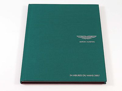 Aston Martin - 24 Hours of Le Mans - 64-Page Hardcover Book Brochure 2007