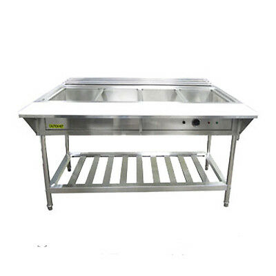 Adcraft EST-240/KIT 4-Compartment Water Bath Steam Table