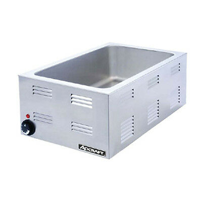 Adcraft FW-1200W Electric Countertop Food Warmer 1200 Watt