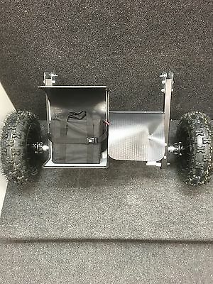 12v Large Wheel Electric Fishing Barrow Conversion