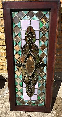 Antique 1870s Stained Glass window