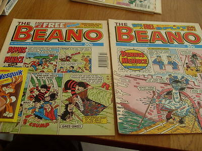 The Beano Comic Issue's No 2621 / 2622 1992