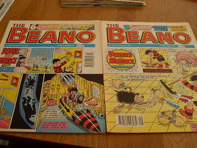 The Beano Comic Issue's No 2629 /2630 1992