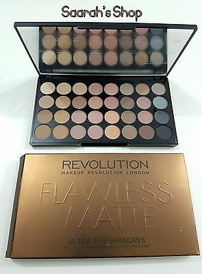 Makeup Revolution Ultra 32 Shade Palette Flawless Matte - ALL MATTES - Fast Post