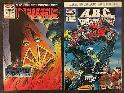 Fleetway Quality ABC WARRIORS & NEMESIS THE WARLOCK (6 comics) 1989/1990