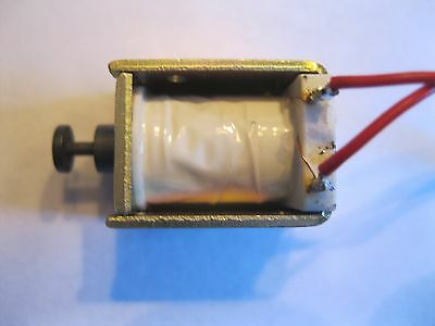 Pull Type Open Frame Actuator Electric Solenoid DC 5-12VDC
