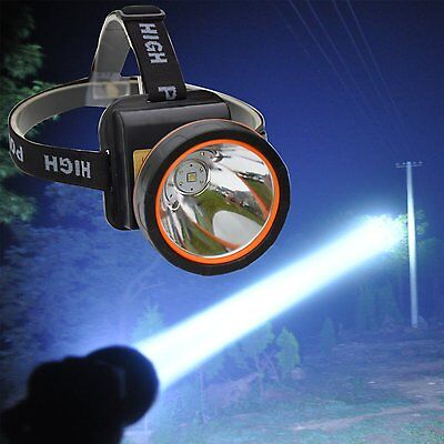 Super bright LED Headlamp Rechargeable Headlight for Camping Hunting Fishing