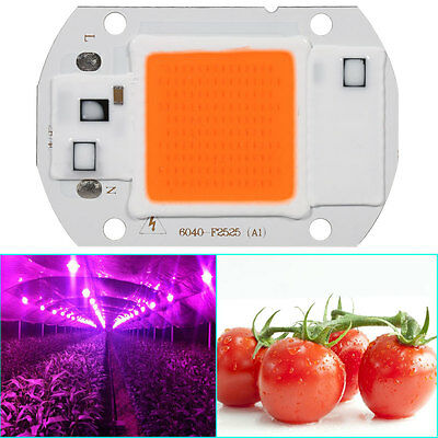 20/30 Full Spectrum LED COB Chip Grow Light Plant Growing Lamp Bulb 220/110V New