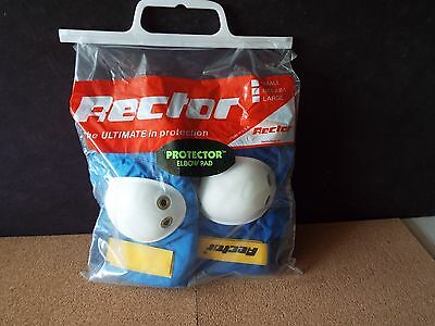 *VINTAGE* RECTOR ELBOW PADS, size M , NOS !