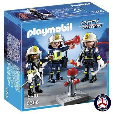 Playmobil Fire Rescue Crew 5366 Brand New