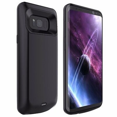 External Battery Power Bank Backup Charger Case Cover For Samsung Galaxy S8 S8 +