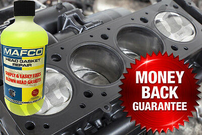 Head Gasket Permanent Fix Block Repair Cracked Cooling System Leak Sealer 500ml