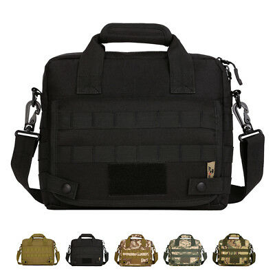 "Tactical Military Outdoor Molle System 10"" Laptop Bag Hiking Camping"