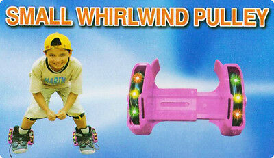 Small Whirlwind Pulley Detachable Roller Skates with LED Light