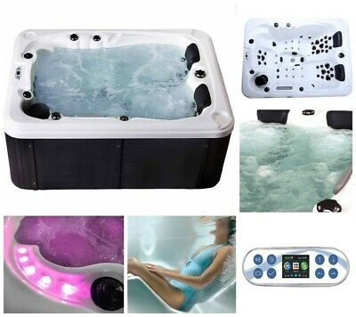 HOME DELUXE Whirlpool Outdoor Aussenwhirlpool Hot Tub Spa Pool Thermostat Acryl