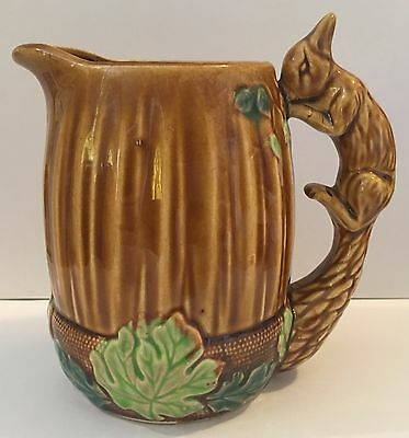Vintage Squirrel Jug as Handle surrounded by Oak Leaves