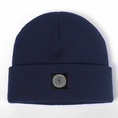 Spitfire - Classic Label Cuff Beanie Navy