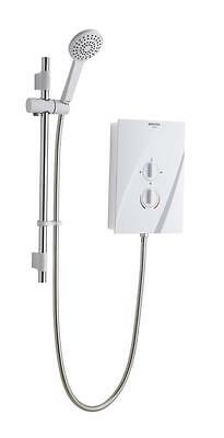 Bristan CHEER 9.5kW ELECTRIC SHOWER White/Chrome MULTI FIT