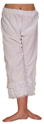 Steampunk-Victorian-Ladies BLOOMERS/PANTALOONS with lace SML-PLUS SIZES