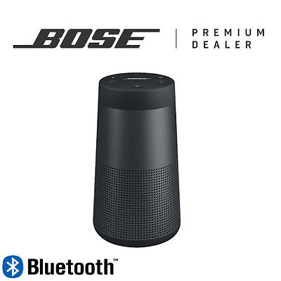 Bose Soundlink Revolve Bluetooth Speaker - Warranty - Shipping - Black