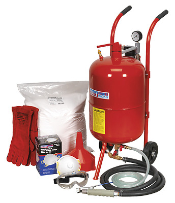 Sealey Shot & Soda Blasting Kit SBKIT