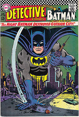 Detective Comics 362 - Riddler App (Silver Age 1967) - 7.5