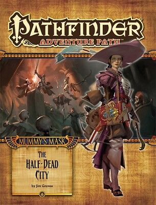 Pathfinder - #79 The Half-Dead City (Mummy's Mask 1 of 6) (englisch)