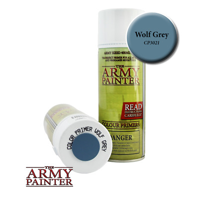 Army Painter - Colour Primer - Wolf Grey