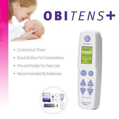Obi TENS Plus unit for labour & beyond - Maternity TENS for labour
