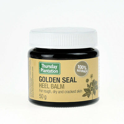 New Thursday Plantation Golden Seal Heel Balm 50g Hydrate Nourish Restore Skin