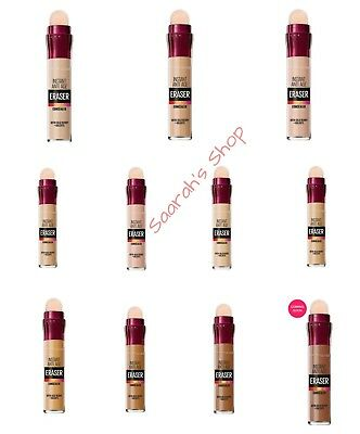 Maybelline Instant Age Rewind Eraser Concealer Eye Dark Circle ALL 11 SHADES