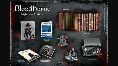 Ps4 bloodborne nightmare edition.Pal UK version brand new