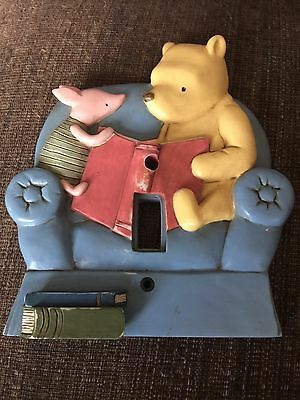 Disney Classic Pooh Ceramic Light Switch Plate Cover by Michel & Co