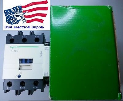 New Schneider Telemecanique Contactor LC1D95U With Coil 240VAC 95Amp.