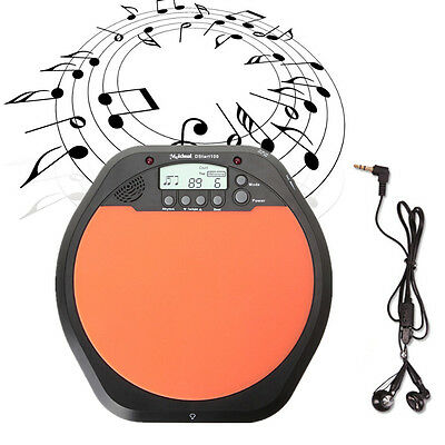 Digital 30-280 Tempo Per Min Electronic Drum Pad Metronome for Training Practice