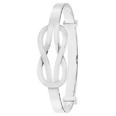 INFINITY BABY Bangle Sterling Silver ideal Christening gift