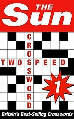 The Sun Two-speed Crossword Book 1 Paperback Book
