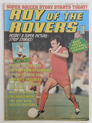 ROY OF THE ROVERS Comic - 31st March 1979