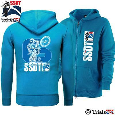 Scottish Six Days Trial Official -THE BIG 6- Adult Hoodie-Blue