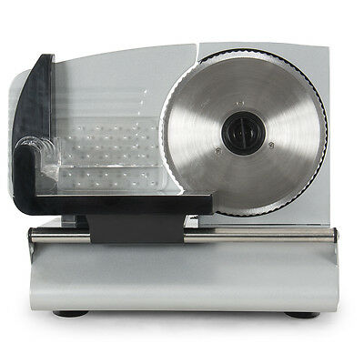 7.5-inch Electric Meat Slicer Blade Cutter Deli Food Slice Machine Countertop