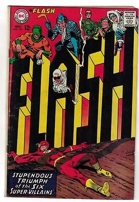 Flash 174 VG+ 1967 DC Comics justice barry allen