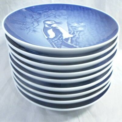 9 Bing & Grondahl Mothers Day Plates 1980 81 82 83 84 85 86 87 & 88