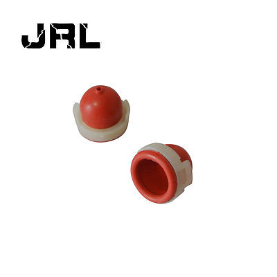 Red Primer Bulb Pump Cup 2Pcs (with hole) Fit Briggs&Stratton 694394 494408