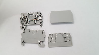 53 Wire Terminals AB 1492-L2 and 20 1492-EBL2 End Barriers