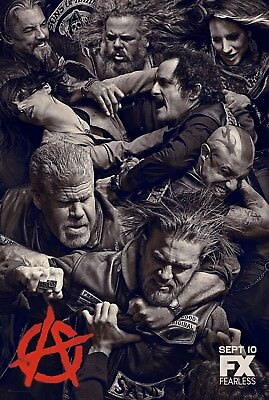 Sons of Anarchy TV Series Poster Print T604 |A4 A3 A2 A1 A0|