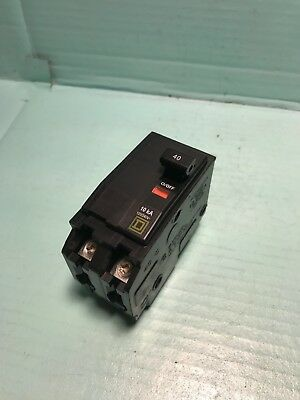 Square D  QO245 45 amp 2 pole Type QO  Circuit Breaker