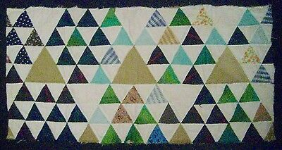 "Vintage Cutter Quilt Piece for Repurpose -30""w x 15""h"