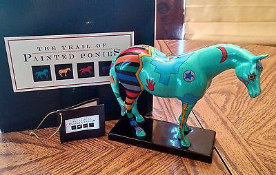 TRAIL OF PAINTED PONIES #1462 2E SPIRIT WAR PONY (retired)