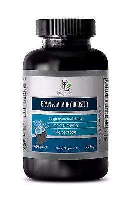 Healthy Cell Membranes - Brain and Memory Booster 777 mg - Phosphatidylserine 1B