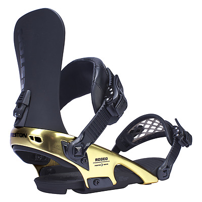 RIDE 2017 RODEO SNOWBOARD BINDINGS - PRESTON(GOLD) size XL